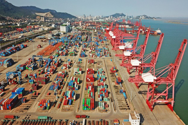 China formally raise tariffs on American imports in China on 24 September 2018